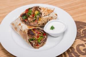 Burrito s vepřovým masem