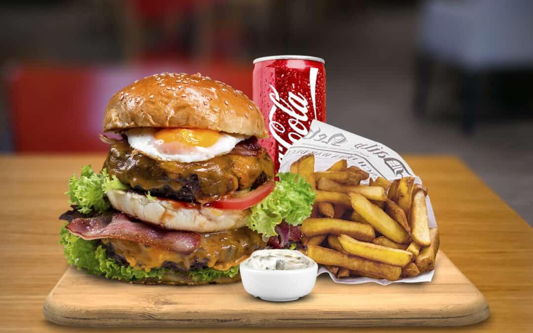 Tower burger menu