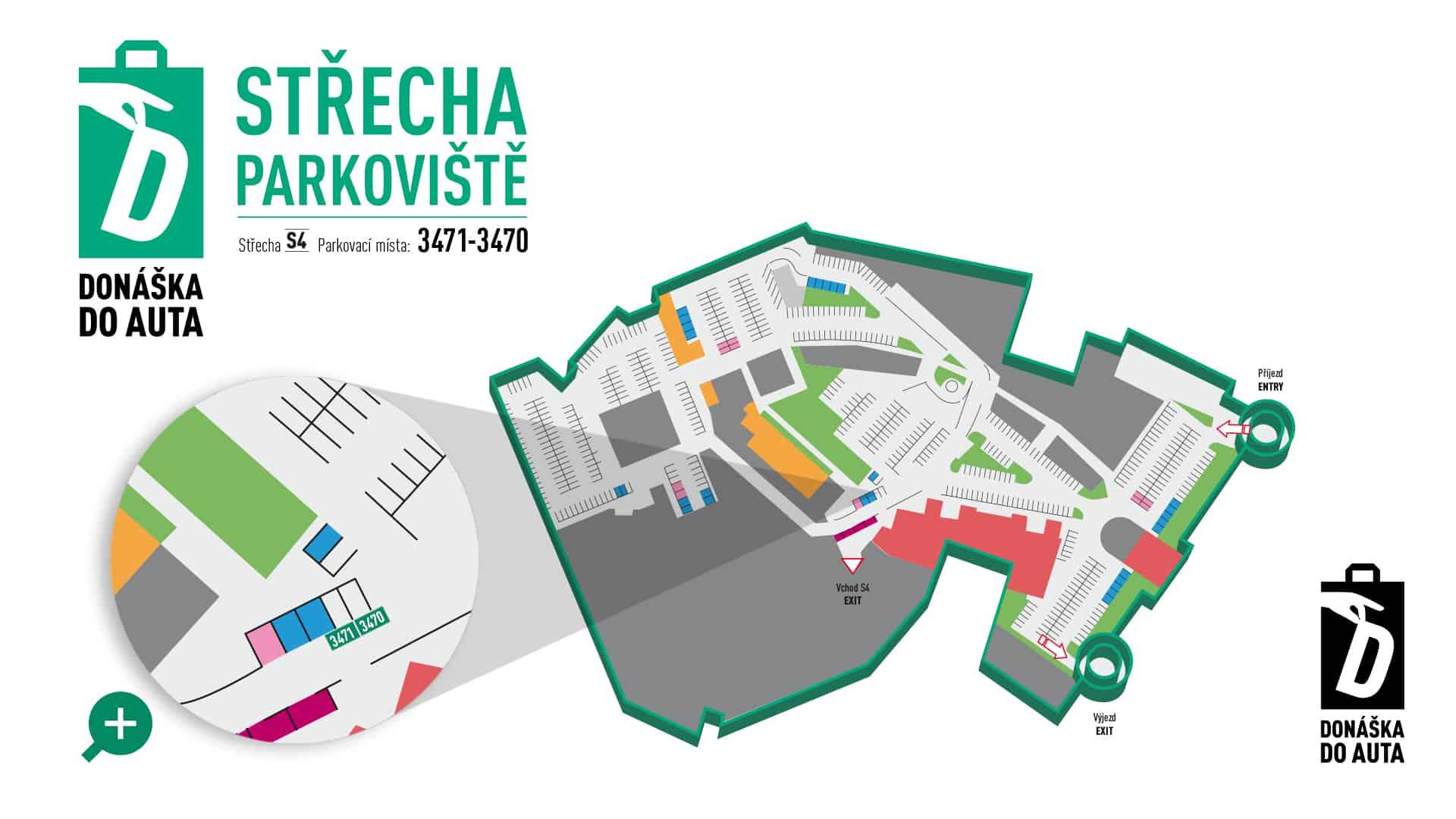 Mapka parkoviště